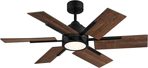 Savoy House 44-770-6AO-89 Farmhouse II 44″ Antique Oak Ceiling Fan 44″ W x 15″H