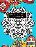 Mandala Coloring Book for Kids: Big Mandalas to