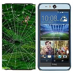 EJOOY---Cubierta de la caja de protección para la piel dura ** HTC Desire Eye M910x ** --Lago Chalet
