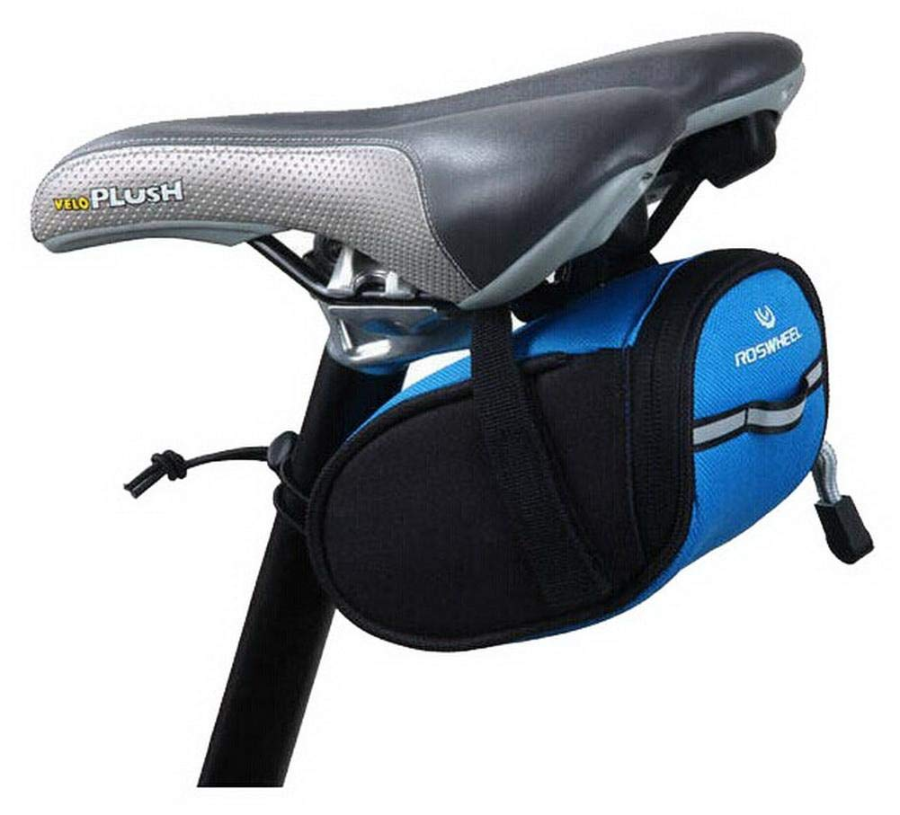 The Bicycle Saddle Pack - Tube Before Package with A Mobile Phone Bag