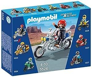 Playmobil Coleccionables - Moto Chopper, playset (5526)