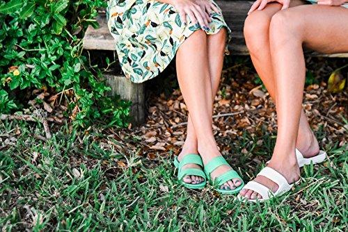 Pali Hawaii Voksne Klassiske Jandals Sandaler Spring Green