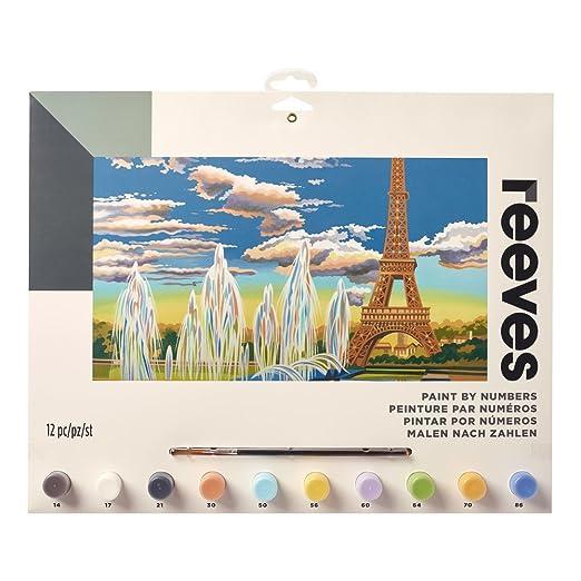 Set de Regalo de Pintar por n/úmeros Reeves