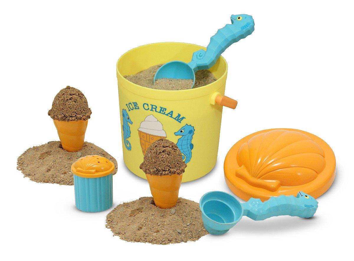 Melissa & Doug Sunny Patch Speck Seahorse Sand Ice Cream Play Set Melissa and Doug 16433