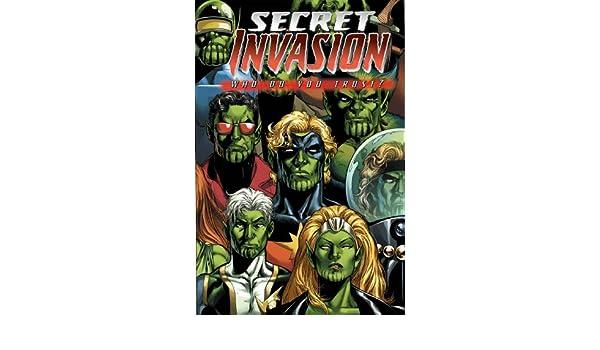 Secret Invasion: Who Do You Trust? TPB: Amazon.es: Zeb Wells ...