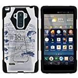 MINITURTLE Case Compatible w/LG G Stylo Phone Case, Silicome and PC Shock Impact Stand Case w/Dazzling Designs for LG G Stylo LS770, H631, MS631, LG G4 Stylus Fish Adventure