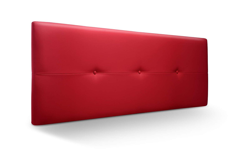 Cabecero tapizado rojo antimanchas dormitorio economico barato mejor precio Todo de rojo