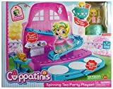 NEW! EXCLUSIVE Jakks Pacific Cuppatinis - SPINNING TEA PARTY PLAYSET with Jasmint Doll - 19 Pieces ( HARD TO FIND)