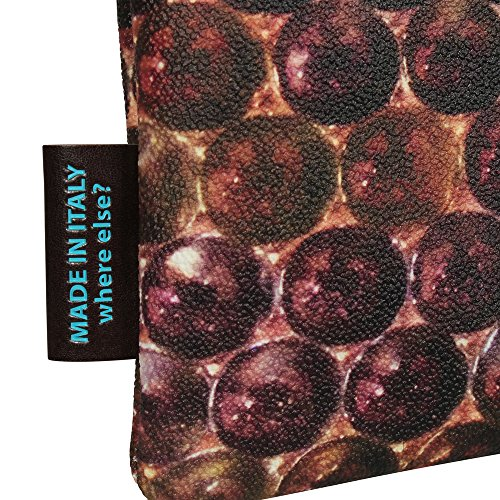 GABS Damen Schultertasche BEYONCE STUDIO S Print Marbles (braun)