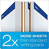Ampad Evidence Quad Dual-Pad, Quadrille Rule, Letter Size (8.5 x 11.75), White, 100 Sheets per Pad (20-210)