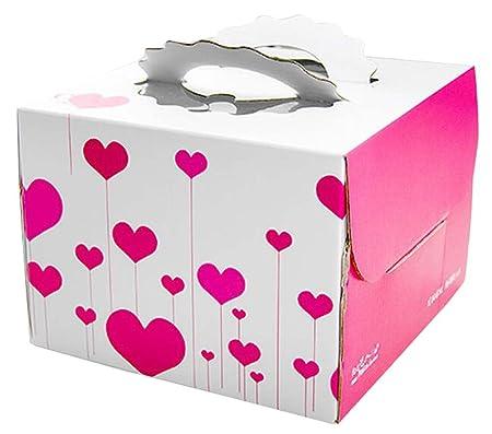 Astonishing Blancho Set Of 2 Fashion Square Cake Boxes Birthday Cake Boxes Funny Birthday Cards Online Inifofree Goldxyz