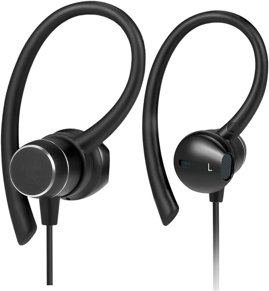 Bluetooth Headphones,Best Wireless Sports Earphones w/Mic IPX7 Waterproof HD Stereo Sweatproof In Ear Earbuds Workout Headset for Running Gym 8 Hour Battery and Noise Cancellation for iphone Android
