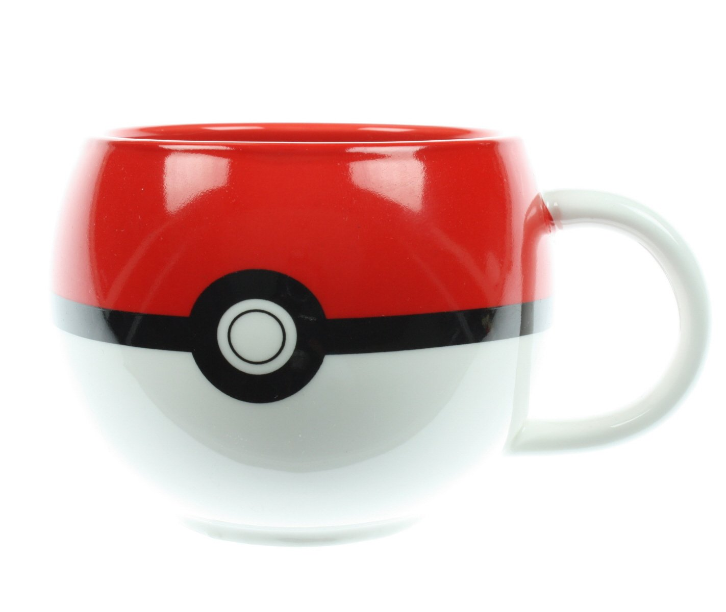 A Pokéball mug perfect for sipping on coffee or tea