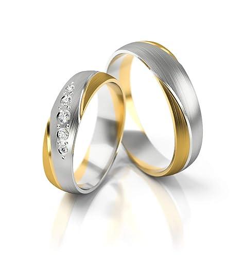 1 Trauring Ehering Hochzeitsring Gold 585 Breite 4mm Sonderangebot Top !