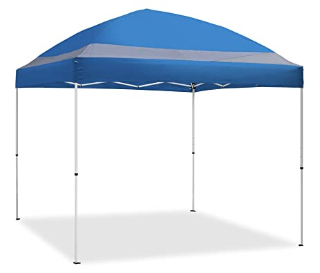 Caravan Canopy 10u0027 x 10u0027 ArchBreeze Instant Canopy Blue Top/White Frame  sc 1 st  Amazon.com & Amazon.com : Caravan Canopy 10u0027 x 10u0027 ArchBreeze Instant Canopy ...