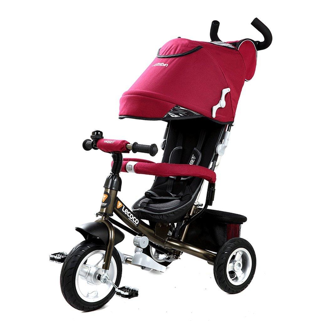 ZXUE Triciclo Infantil 1-5 Años de Edad Multifuncional Baby Bike Cochecito de bebé Cochecito de bebé (Color : C)