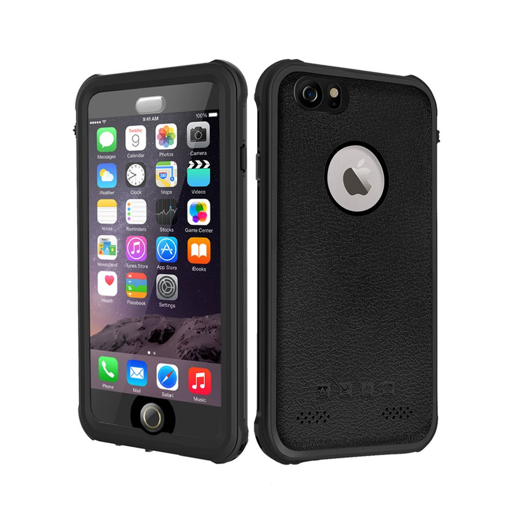 Waterproof Case Iphone 6 6s, Besinpo Underwater Full Body protection Cases Drop Proof Cover Fully Supports Finger Print Function For Iphone 6/6s 4.7 inch Only Black