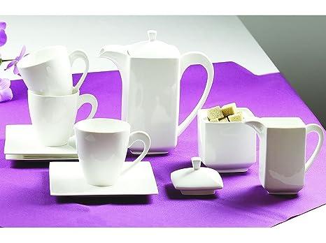 Juego de café de 17 elementos de Porto Ambition de colour & en embalaje original del