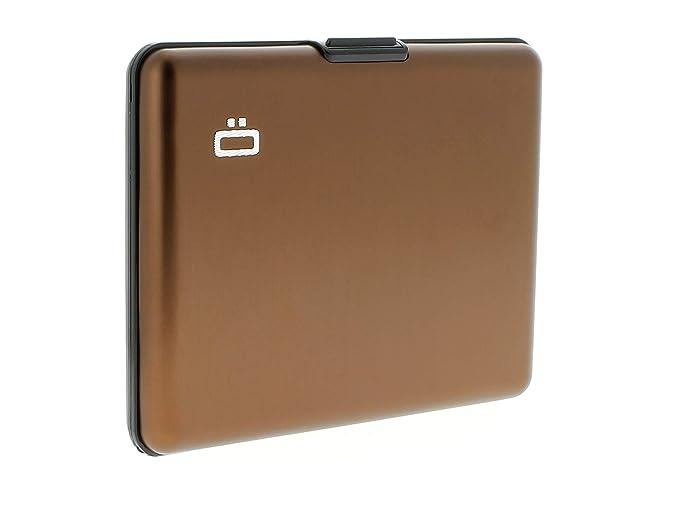 Ögon Design – Cartera de aluminio Marrón braun - chocolate