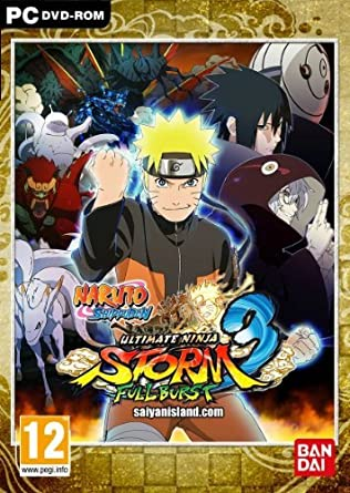 Naruto Shippuden : Ultimate Ninja Storm 3 Full Burst (PC DVD ...