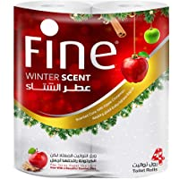 Fine Winter Scent Toilet Roll, Pack of 4 Rolls x 2 Ply