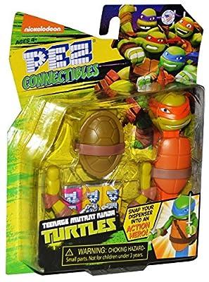Pez Connectibles Teenage Mutant Ninja Turtles, Michelangelo
