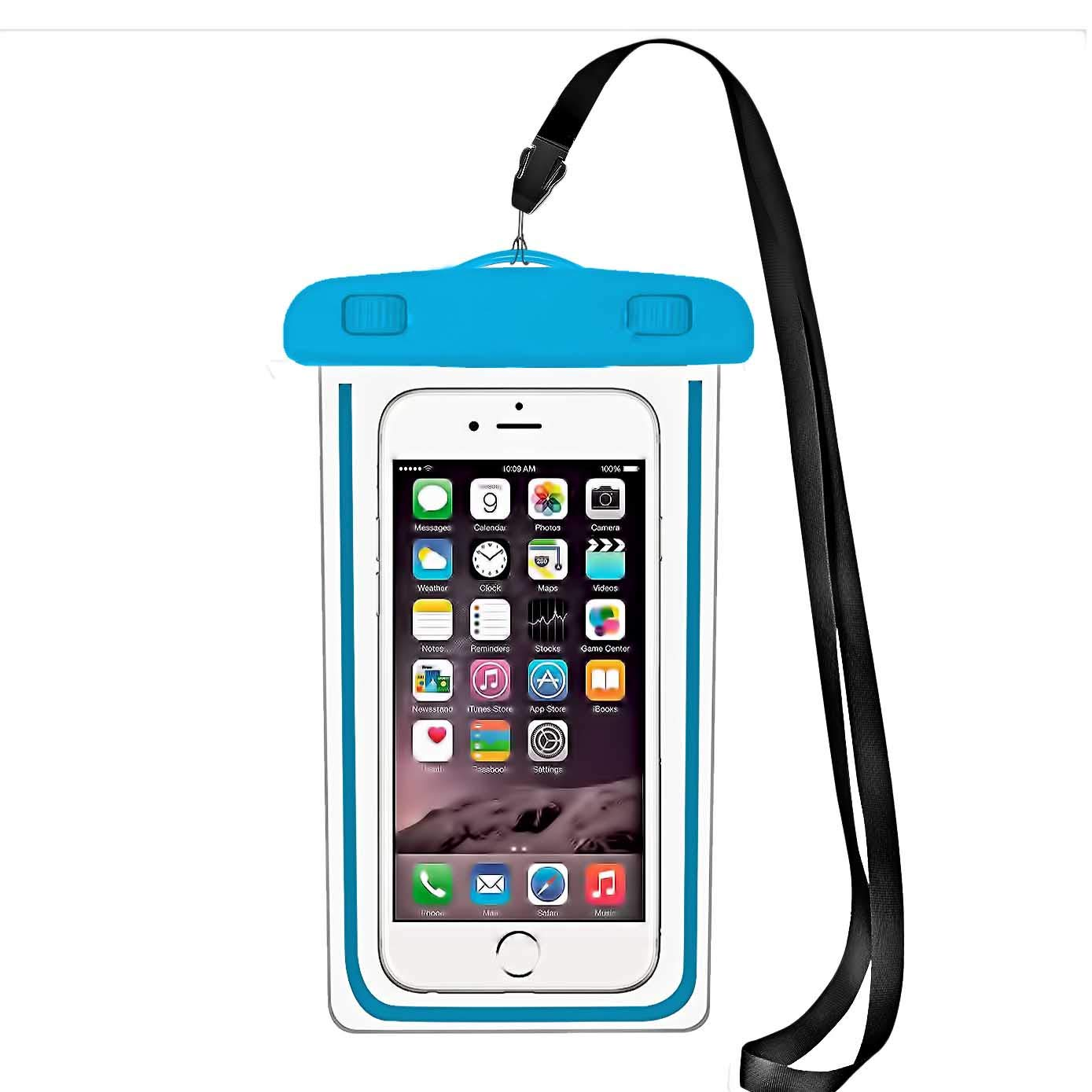 the latest 8c682 d77fc iBarbe Universal Waterproof Case,IPX8 Waterproof Phone Pouch - Underwater  Cellphone Dry Bag Compatible for iPhone Xs Max/XR/X/8/8P/7/7P.Galaxy S10  10e ...