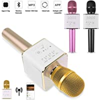 Sihirli Karaoke Bluetooth Hoparlörlü Mikrofon Q9