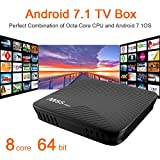 NewPal (Update Version) M8S pro TV box 3G 16G Andriod 7.1 tv box ARM Cortex-A53 CPU up to 2 GHz full loaded stream media player