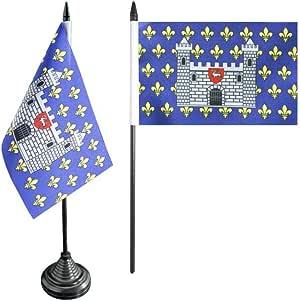 Bandera de mesa/mesa bandera Francia Carcassonne + Gratis Pegatinas, Flaggenfritze – Bandera: Amazon.es: Deportes y aire libre