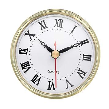 Amazoncom Shoppewatch Clock Insert 80mm 3 18 Inch Roman - 3-roman-numerals-clocks