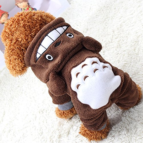 Maglia Da Xs Totoro Vestiti Padre Natale Au Xs Felpe 11 Marrone Maglione Cucciolo 2 Ponticelli Gilet Invernali Felpa Vestito Cane wq8nZFSx7C