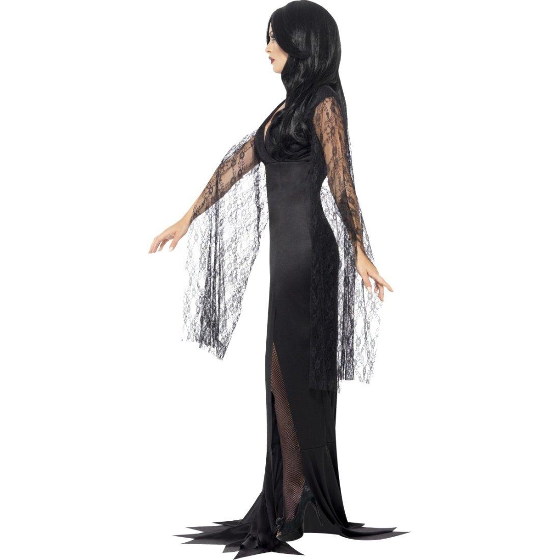 NET TOYS Disfraz Viuda Negra Traje Dark Lady S 36/38 Atuendo Reina gótica Outfit ángel Oscuro Ropa Halloween vampiresa Disfraz Bruja: Amazon.es: Juguetes y ...