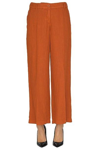 sito affidabile c0590 5dc9a Seventy Pantaloni Donna Mcglpns000005043e Lino Marrone ...
