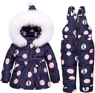 SANMIO Baby Girls Snowsuit