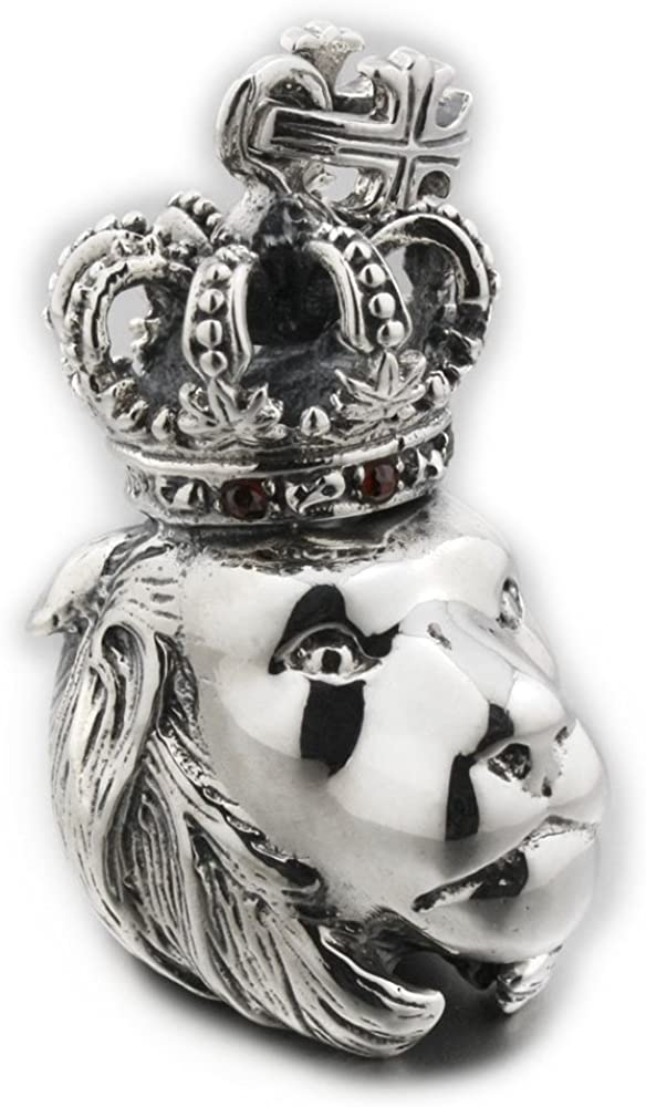 Pendentif en argent sterling Raven Skull Motard 925 NEUF