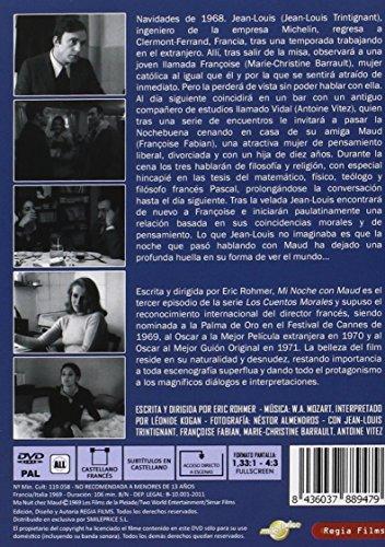 Mi Noche Con Maud (Ma Nuit Chez Maud) (1969) (All Regions) (Import)