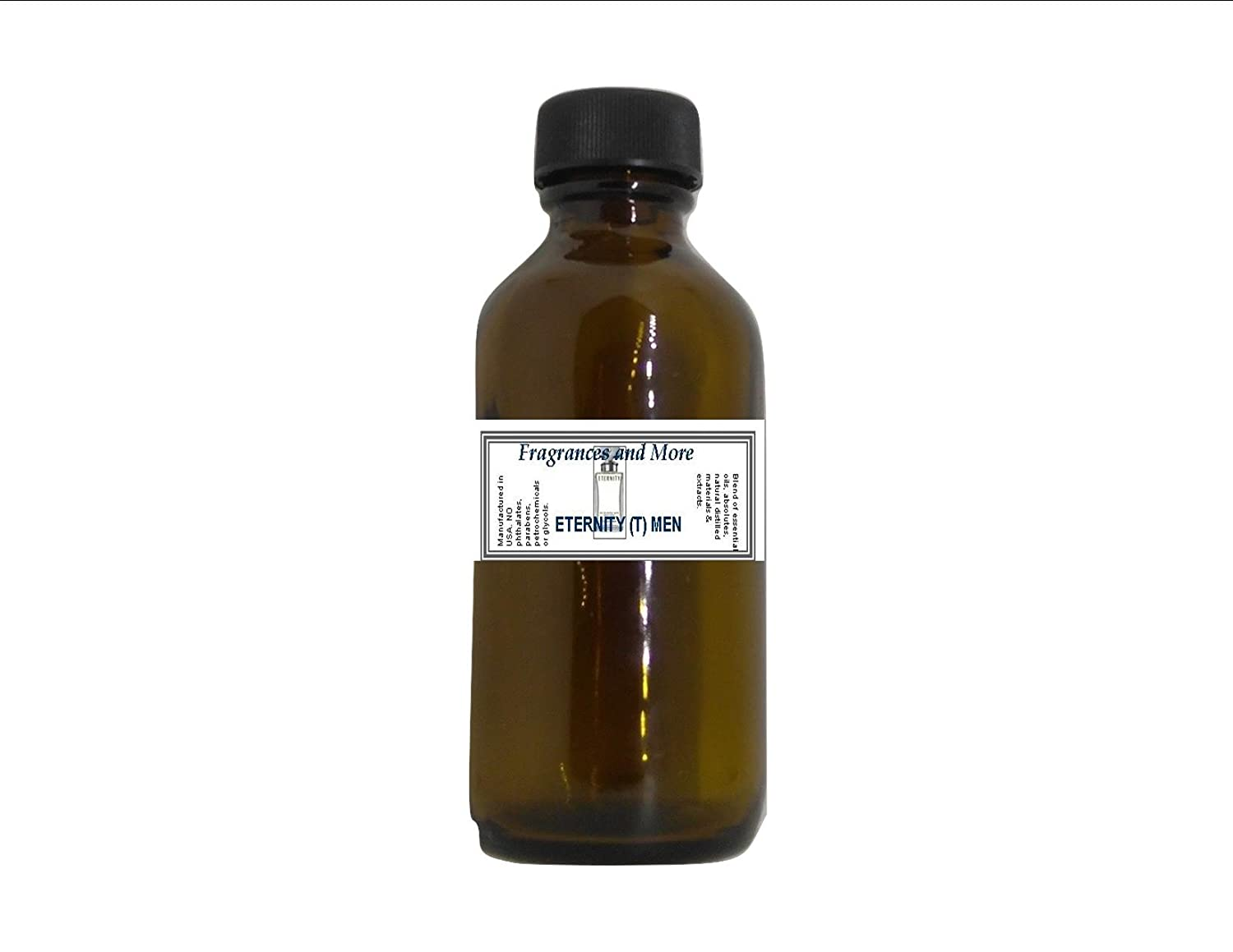 Eternity Men Type Fragrance Oil-2 oz Scented Oil for Candle Making-Soap Making- Home & Office Diffuser- Hair & Body Products Fragrances And More