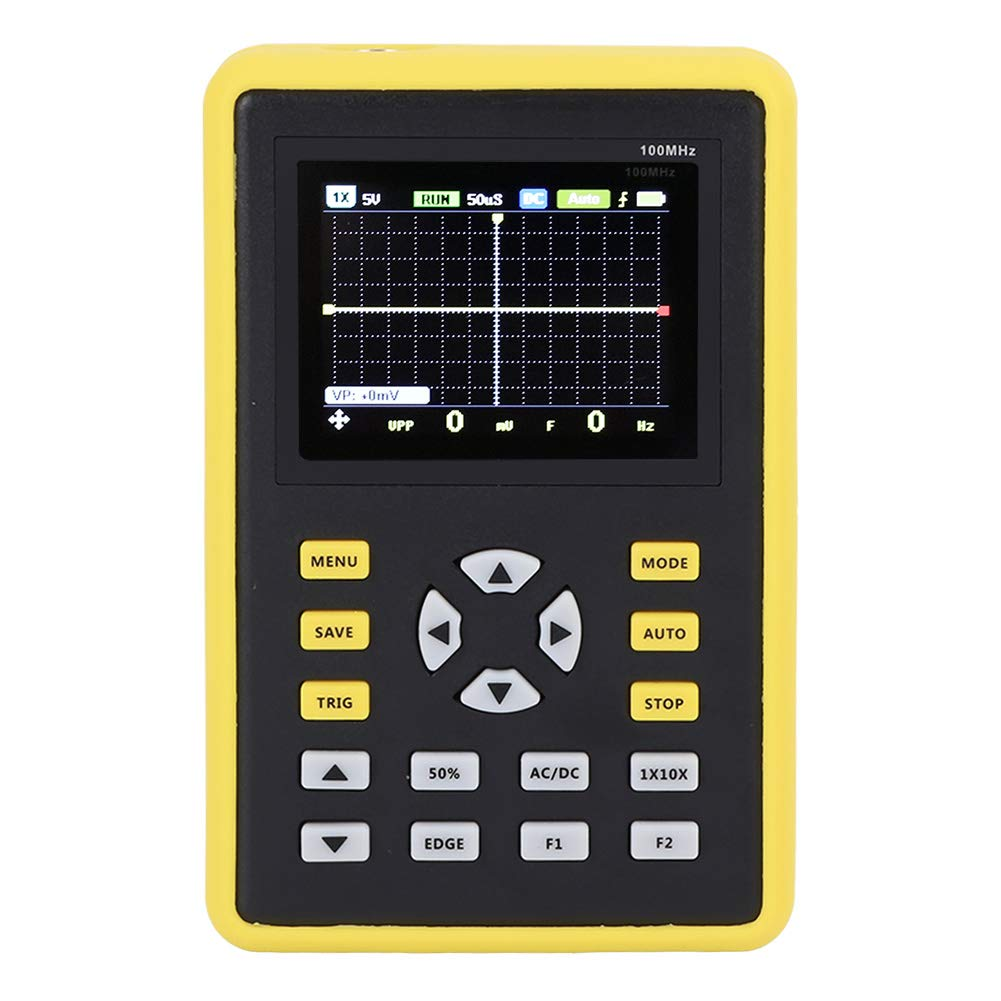 Digitales Oszilloskop Mit 2 4 Zoll Ips Lcd Display Dso 100 Mhz 500 Ms S Fnirsi 5012h Gewerbe Industrie Wissenschaft