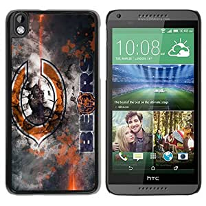 Chicago Bears 40 Black Recommended Customized Design HTC Desire 816 Case