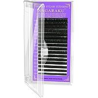 NAGARAKU Wimperverlenging wimperextensions individueel enkele lengte 0.05 C kromming 7-15mm Mix mat zwart eyelash…
