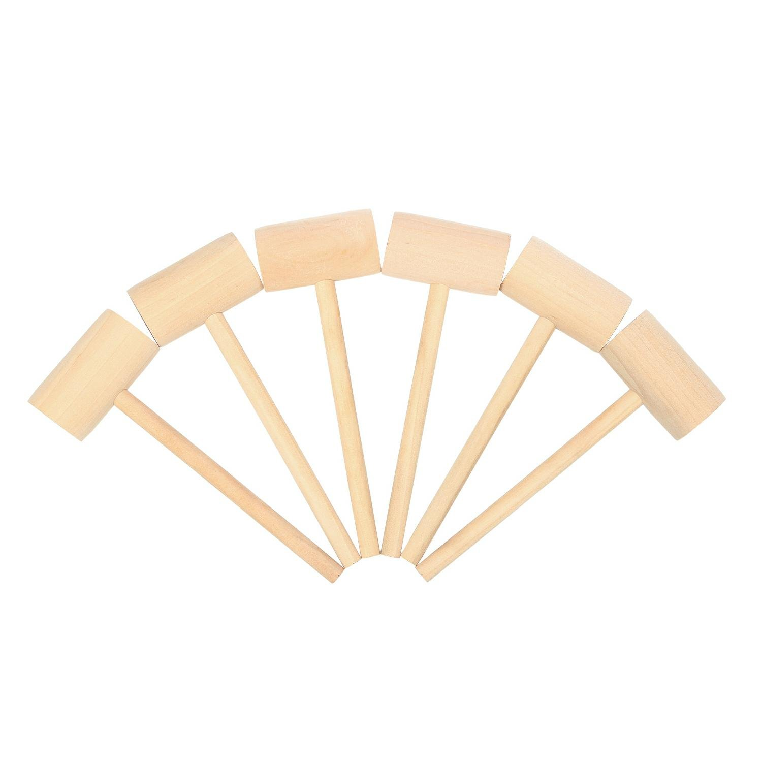 ASIBT 6 Crab or Lobster Mallets SYNCHKG098286