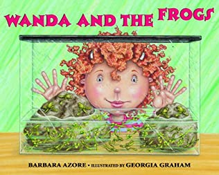 book cover of Wanda and the Frogs