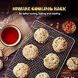 "Hiware 2-Pack Cooling Racks for Baking - 10"" x"