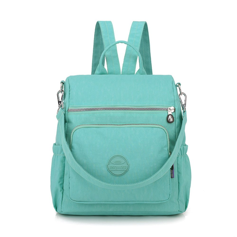 66978a88efc8 GuiShi(TM) Mini Nylon Cute Backpacks Purse Casual Lightweight Multipurpose  Small Daypack Travel Shoulder Bag for Women Girls (Tiffany blue)