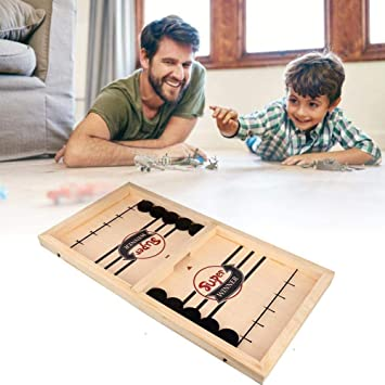 Jiahuade a Ray of Sunshine Hockey de Mesa Portatil,Hockey de Mesa para Niños,Hockey Mesa Juego,Juegos de Mesa Familiares,Board Games for Adults,Board Games for Kids,Juegos de Mesa Adulto (A): Amazon.es: Juguetes y juegos