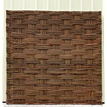 """Braided Willow Fence Panel, 72""""W x 72""""H, Set of 2 pieces"""