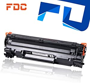 FDC Print Toner Drum CB436A 36A Toner Cartridge Compatible for HP Laserjet M1522n M1522nf MFP P1505 P1505n M1120 M1120n Printers Toner 2,000 Pages(1-Pack)