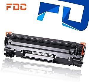 FDC Print Toner Drum CB436A 36A Toner Cartridge Compatible for HP Laserjet M1522n M1522nf MFP P1505 P1505n M1120 M1120n Printers Toner 2,000 Pages(1-Pack)