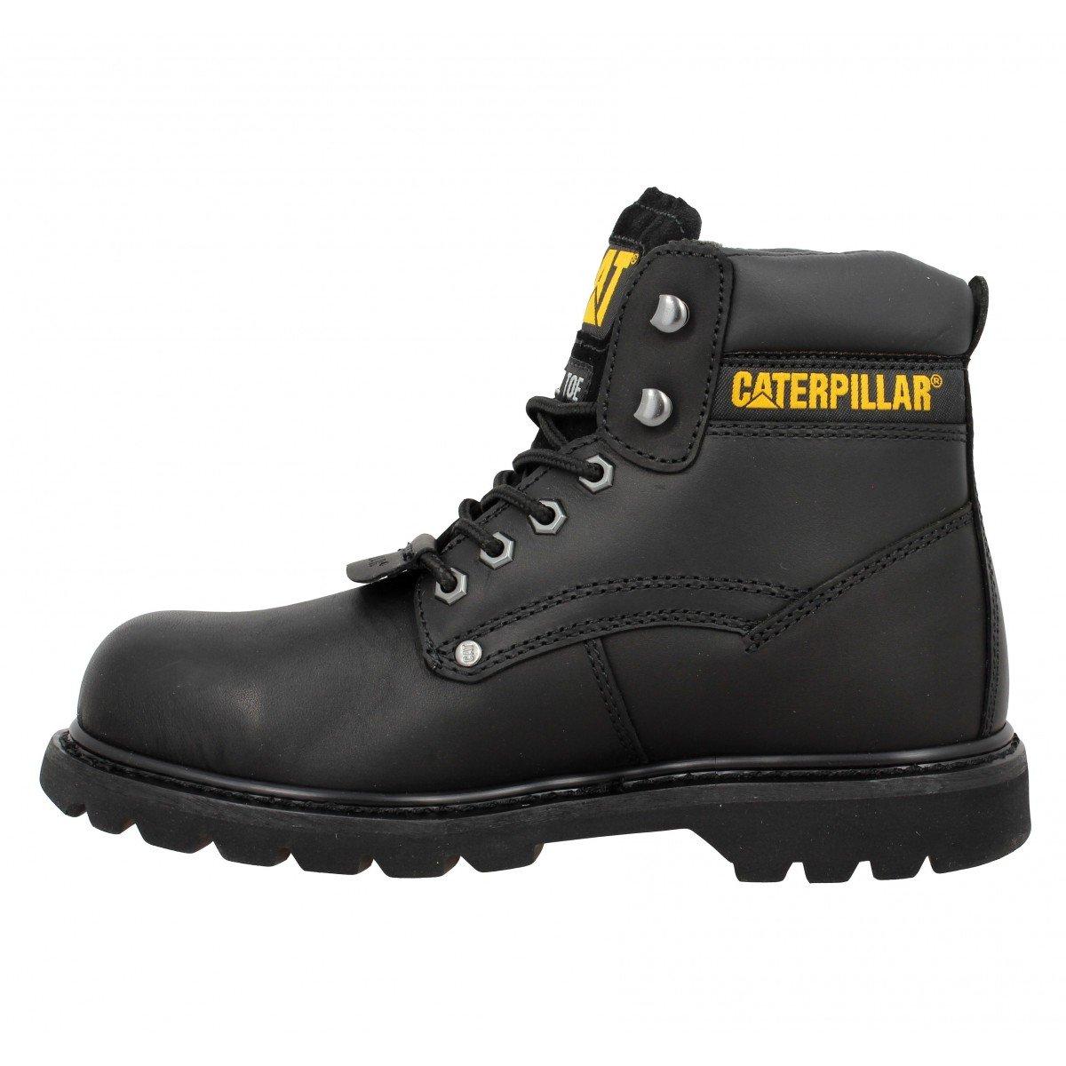 f04d435fe629bb Caterpillar Sheffield ST Men's Boots Black Size: 4.5: Amazon.co.uk: Shoes &  Bags